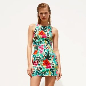 Zara   skort dress